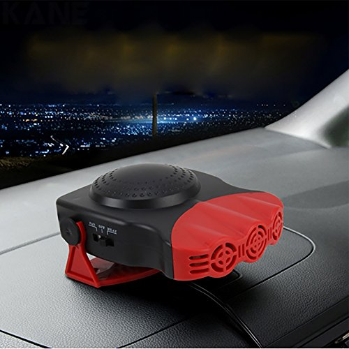Portable Electric Heater Warmer Heating Cooling Fan Defroster for Car Vechile US